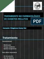 Tratamiento no farmacológico de diabetes mellitus