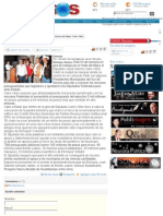 22-11-11 Recursos por 100 millones de pesos para los Municipios del Mayo
