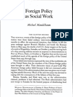 Foreign Policy as Social Work
