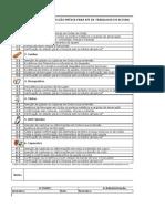 Verificação de EPI e Anti-Queda