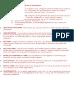 Ten Steps in Building People