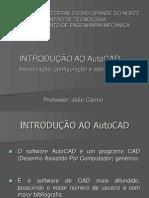 2- Introdução ao AutoCAD