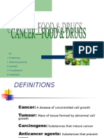 cancer food drugs by prathiksha sharmila sumathi priyadharshini gowthami