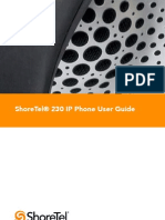 Shoretel ip_230 userGuidei