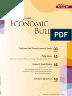 Economic Bulletin (Vol. 33 No.11)