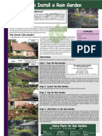 Rhode Island; How to Install a Rain Garden