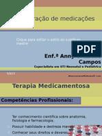 Administração de medicações