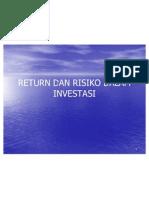 Return Dan Risiko