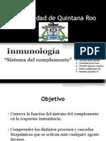 Inmunologia - Sistema Del Complemento - Nivel Molecular