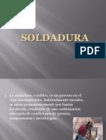 SOLDADURA