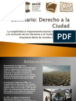 Seminario Derecho a La Ciudad_2010
