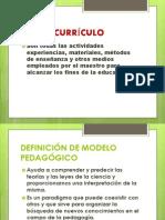DIAPOSITIVAS DE CURRÍCULO CUARTO CICLO