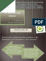 Pierre Bourdieu - Os excluídos do interior