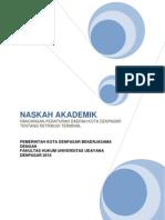 Naskah Akademik Raperda Retribusi Terminal Kota Denpasar