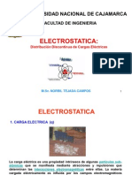 Electrostatica - Distribucion Dis Continua de Carga Electrica