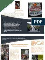 Folleto Baguazo - Globalizacion Elizabeth