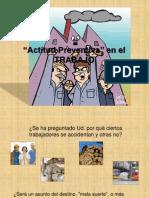 Actitud Preventiva en El Trabajo 2011