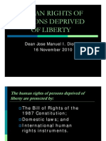 Human Rights of Persons Deprived of Liberty (Atty. Jose Manuel i. Diokno)