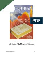 Al-Quran - The Miracle of Miracles [ Deedat]