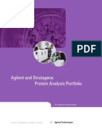 Agilent and Strata Gene Protein Analysis Portfolio