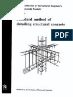 Reinforcement detailing manual.
