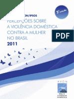 Percepções sobre a violência doméstica contra a mulher no Brasil