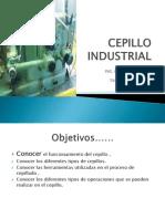 Cepillo Industrial c.u.c