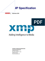 Xmp Specification