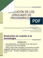 Evolucion de Los Lenguajes de Programacion