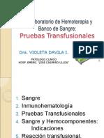 Pruebas pretransfusionales(excelente)