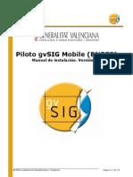 GvSIG Mobile Pilot 0.3 Install Man v1 Es