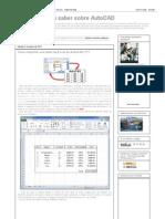 Lo Que Necesita Saber Sobre AutoCAD_ Tablas de Excel