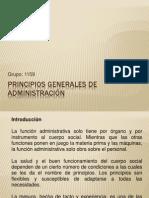 14 PRINCIPIOS GENERALES DE ADMINISTRACIÓN