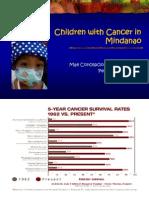 Children with Cancer in Mindanao