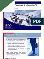 Gobierno de IT BDO Consulting Gobierno de TI 2