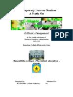 E- Waste Report Final