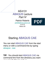 Ae4131 Abaqus Lecture 4