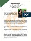 Programa Pedro Méndez, Candidato concejero FECh 2012