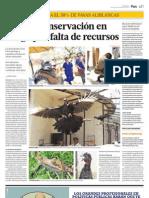 Articulo Crax Peru - El Comercio 04.09.11