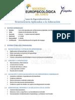 Curso de especialización en Neurociencias Aplicadas a la Educación