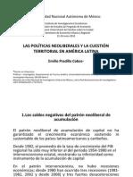 1.3.- Pradilla, E.- Políticas neoliberales y la cuestión ter