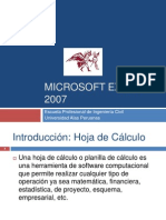 Clases - Microsoft Excel 2007