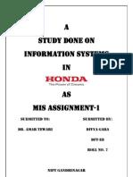 Mis in Honda