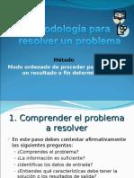 Metodología Para Resolver Un Problema