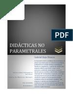 DIDACTICA NO PARAMETRAL UPN D.F. 1° DE OCTUBRE 2011