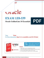 1Z0-539, ORACLE Questions and Answers