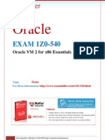 1Z0-540, ORACLE Questions and Answers