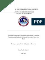 Analisis de Impacto de Ala Distribucion en Ele Alumbra Publico
