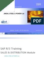 SAP Sale Training D1