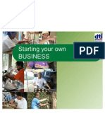 Starting Your Own BUSINESS_PPA